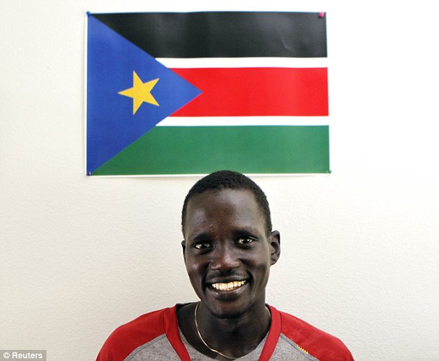 'Wow': The IOC's board gave Marial a chance after he didn't qualify for Sudan, South Sudan or the U.S. under its rules as he's a U.S. resident after arriving as a refugee as a kid but doesn't have American citizenship