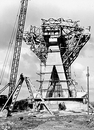Antenna One, at Goonhilly Earth Station, Cornwall,