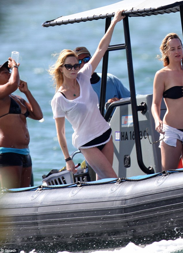 Family and friends: Although Antonio was notably absent from the vacation, Melanie was accompanied by her daughter, Stella, and a group of pals