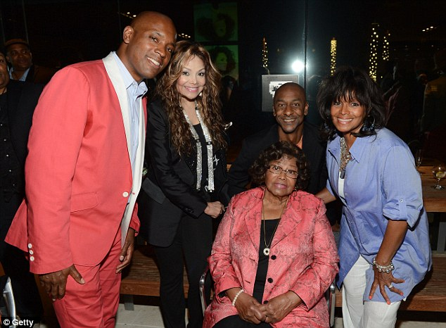 Kelly Griffin, LaToya Jackson, Stephen Hill, Katherine Jackson and daughter Rebbie seen at the 2012 BET Music Matters Showcase last month