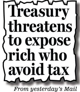 treasury threatens to expose