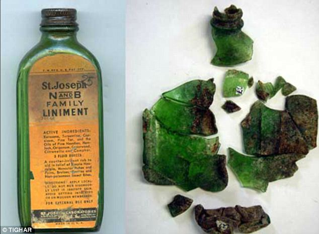 Search crews had hoped to find conclusive evidence after clues such as this ointment bottle were found