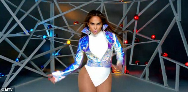 Sneak peek: J-Lo released a short clip of her new music video Goin' In today