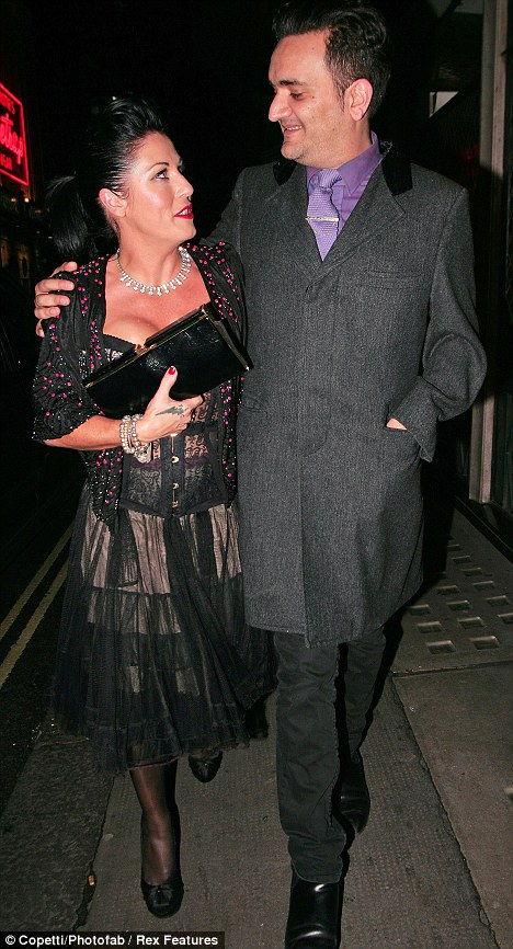 Can you hear wedding bells? Jessie Wallace and her boyfriend Tim Arnold are said to be ready to get married