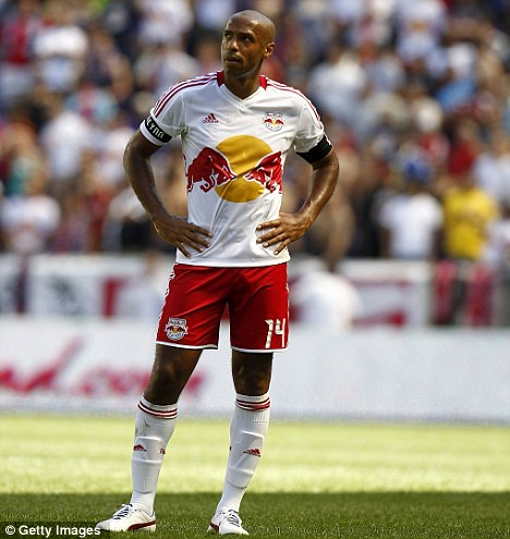 Gunners legend: Thierry Henry is keen to return to Arsenal for a third spell