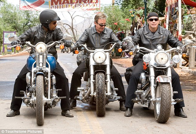 Wild Hogs: Their antics aren't that dissimilar to the 1997 movie about middle aged men suffering a mid-life crisis
