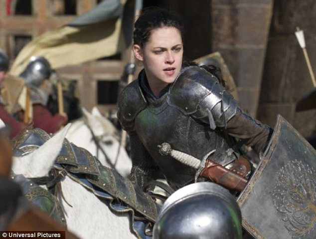 Star of the show: Kristen played a grown-up Snow White in the modern adaptation of the fairytale