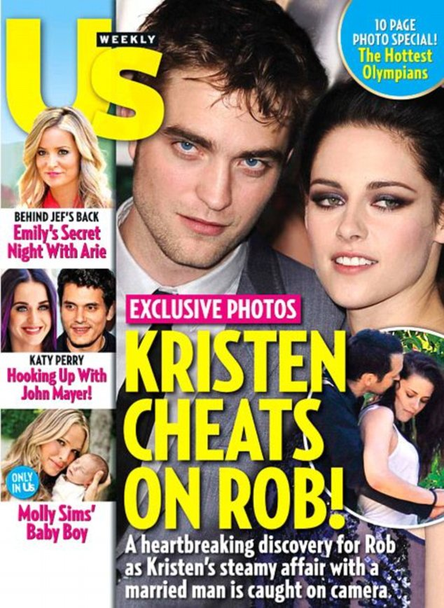 Caught on camera: Us Weekly magazine claims to have photographic evidence of the alleged affair