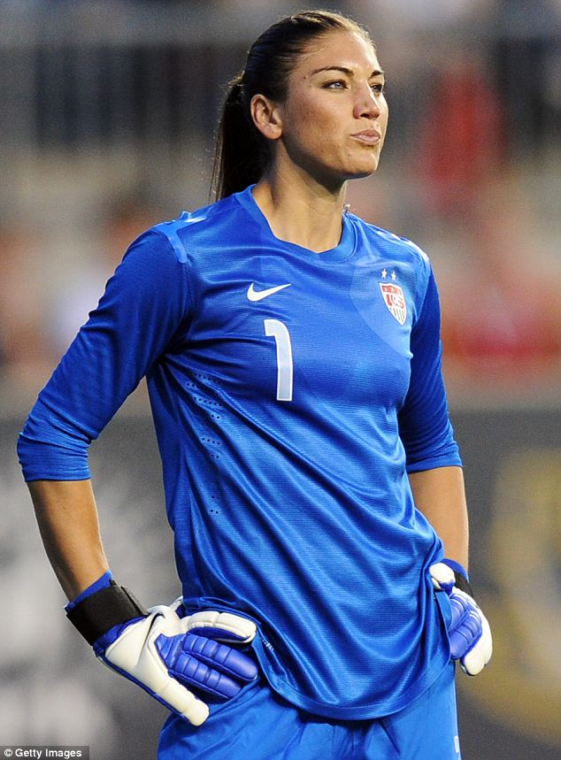 Hope Solo: The U.S. women¿s soccer team goalkeeper reveals how she was conceived during one of her mother¿s conjugal visits to her jailed father in a new book