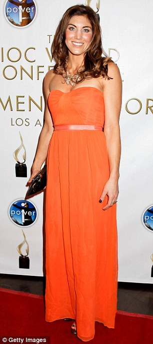 Hope Solo attends the Power Of I celebrating women on February 17, 2012