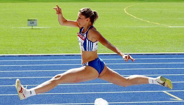 Greek triple jumper Voula Papachristou