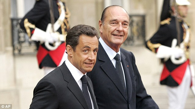 Corruption: Jacques Chirac, was found guilty by a Paris court of diverting public funds and abusing public confidence, and Sarkozy, who is threatened by a medley of accusations, were both left mainly unchallenged by the French press