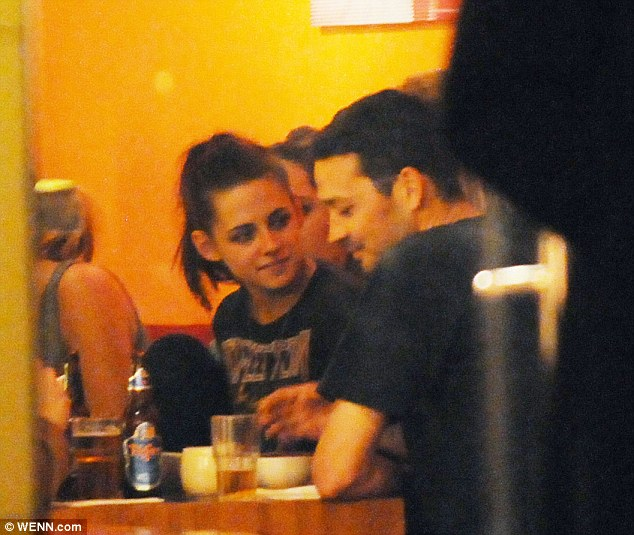 Although they were at a dinner with cast and crew, at Monsieur Vuong restaurant in Berlin in May, Kristen Stewart and Rupert Sanders only had eyes for each other