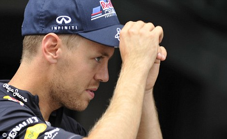 Complaint: Sebastian Vettel thinks the race director should have immediately acted