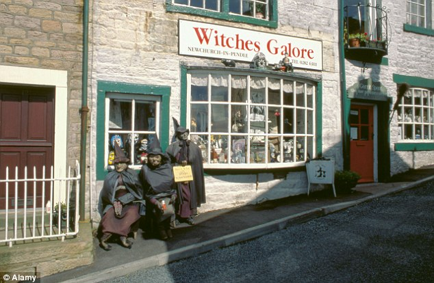 The Witches Galore shop Newchurch-in-Pendle