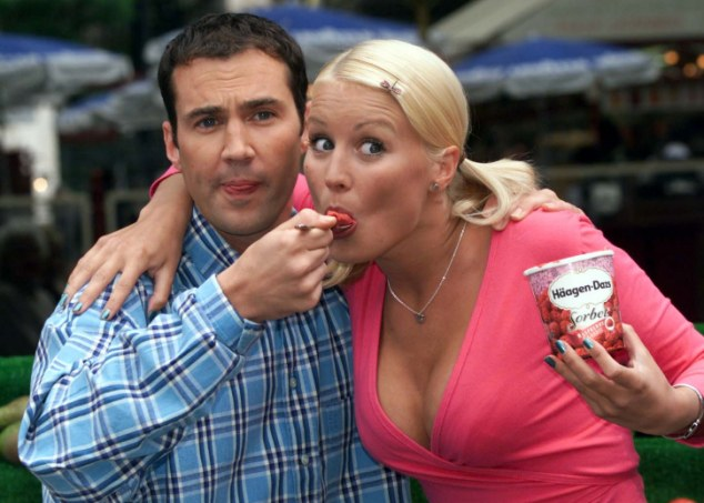 The Big Breakfast: Johnny Vaughan's on-screen chemistry with Denise Van Outen saw the show's ratings soar from 300,000 to more than 500,000