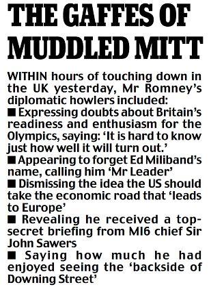 The gaffes of muddled Mitt