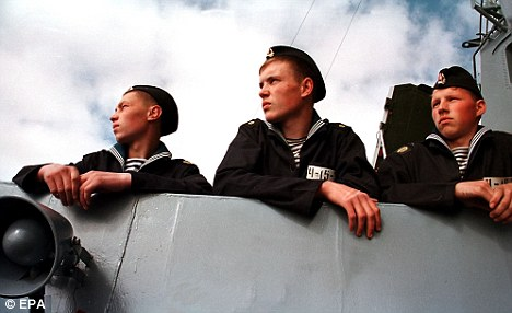Sailors in the Russian Navy can look forward to sunnier climes with one of their potential exotic base locations