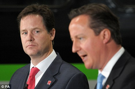 When Parliament returns in the autumn, the Coalition between Nick Clegg's (left) Liberal Democrats and Cameron's Conservatives will be half-way through their term in office. Economic policies look set to dominate the agenda