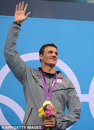 US swimmer Ryan Lochte