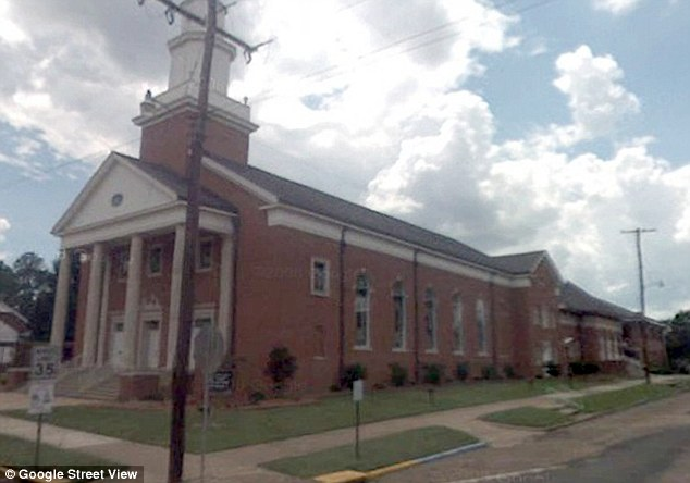 Scene: Other congregation members at First Baptist Church said they were outraged at the opinion of a few