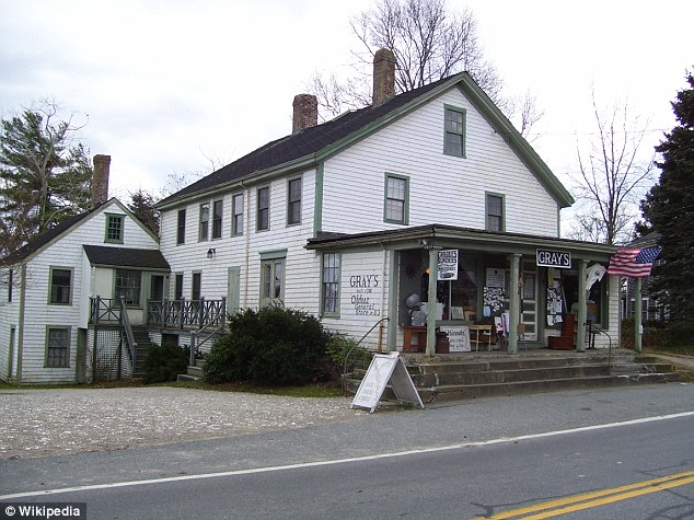 Generations: The 224-year-old business had been passed down in the Waite family for seven generations with the family's residence seen in the back of the store