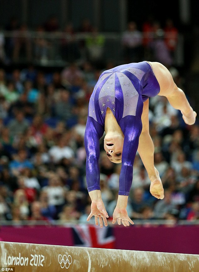 Numbers rule: The U.S. champion and Olympic medal favourite was cut over a two-per country athlete rule for the All-Around competition