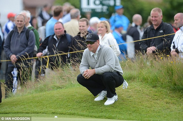 Duval, who was once Tiger Woods's only credible rival, has failed to win any major tournaments since 2001 and has only made about £17K in 2012