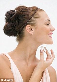 73% of testers felt a feeling of pleasure when applying the perfume