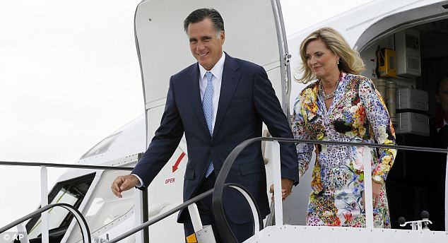 Try again: Mitt Romney's final stop on his three country tour is Poland, where he will doubtless be hoping to make a better impression