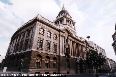 Justice: The Old Bailey, where Ojogel was today jailed for four months