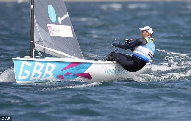 Frustrated: Ainslie said he hopes for better to come