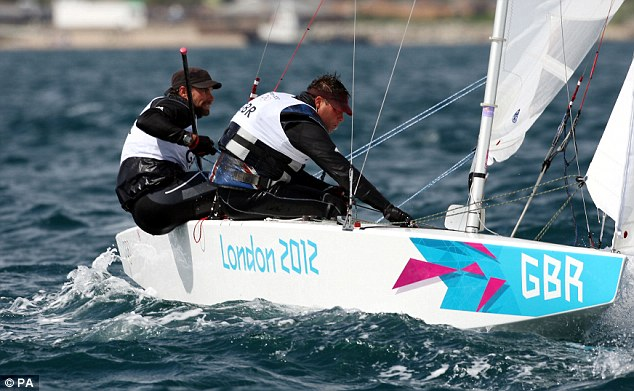 Let's go: Iain Percy and Andrew Simpson in action