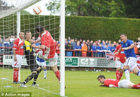 Off and running: Rangers beat Brechin in the Ramsdens Cup