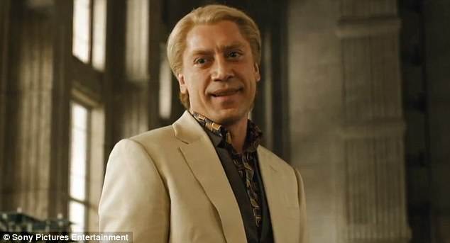 Be afraid! Javier Bardem takes on the role of the villain in the upcoming movie