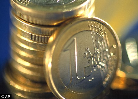 The falling value of the euro against the pound means some banks only guarantee the equivalent of £78,000