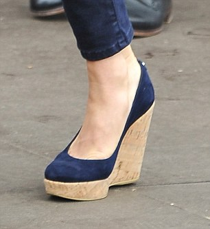Kate wears Russell & Bromley wedges to the Olympics equestrian event