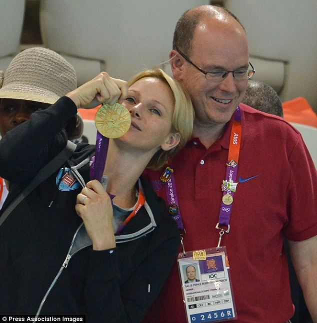 Ex Olympic swimmer Charlene didn't ever receive a medal, placing fifth with her team at the 2000 Games
