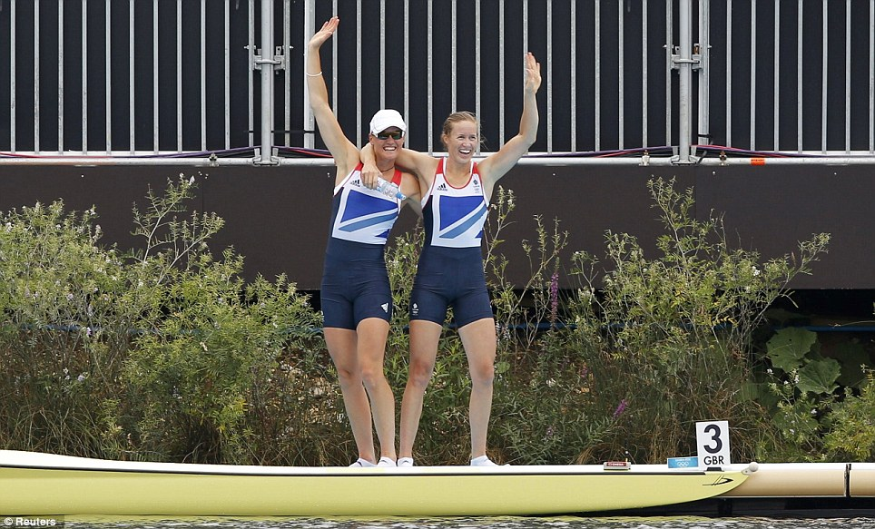 The win is the first by a British women's crew in the history of the Olympics