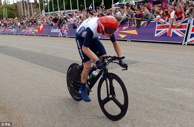 Team spirit: Bradley Wiggins' fellow British rider Chris Froome