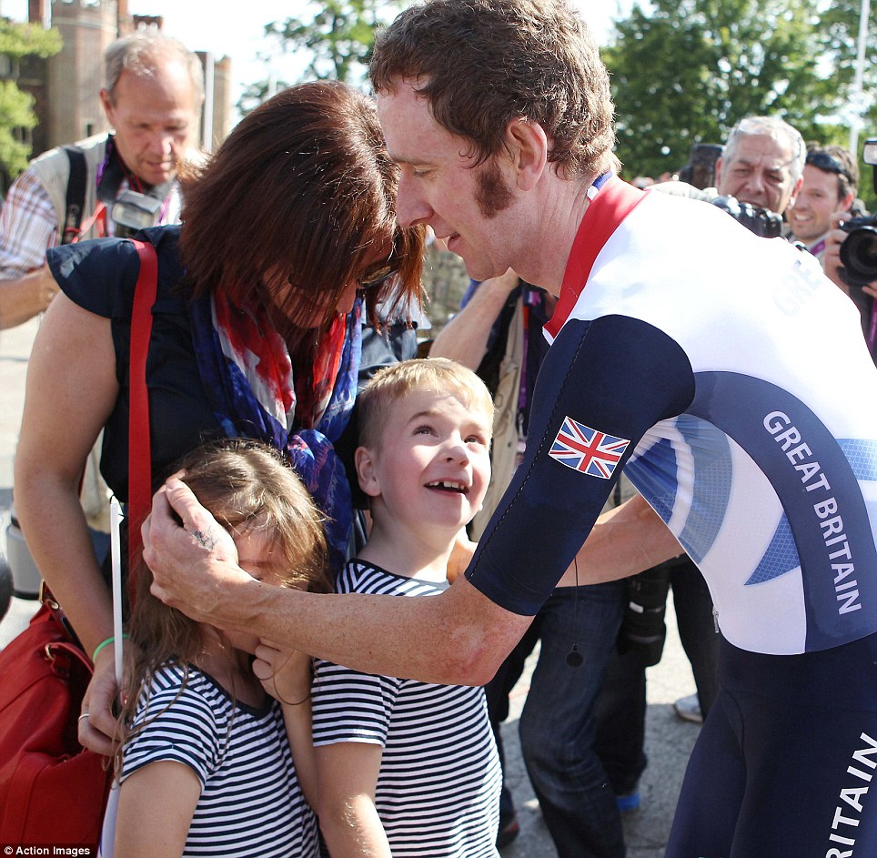 Instead of taking his place on the throne immediately upon winning, the 32-year-old insisted on cycling back along the road to thank those who had waited for hours to see him cross the finishing line