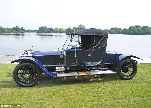 The best car in the world: A 1911 Rolls-Royce Silver Ghost is set to sell for £550,000 at auction