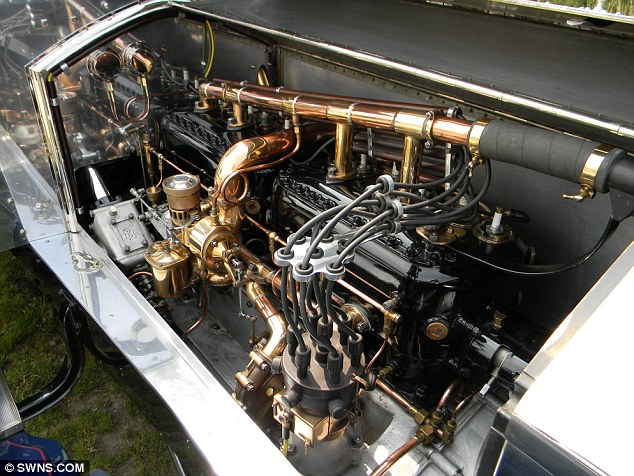 Classic build: The Silver Ghost boasts a 7.4-litre engine and is known for its quality