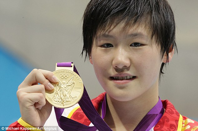 Harry urged the youngsters to emulate the success of 16-year-old Chinese swimming sensation Shiwen Ye