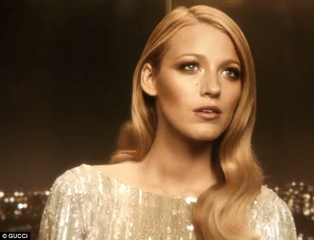 Flawless: It was easy to see why Blake had been chosen to star in the advert