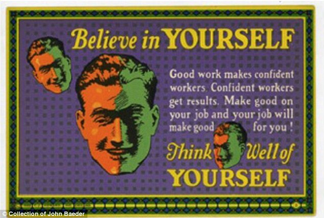Self-esteem boost: This card proves that the idea of believing in yourself and being confident existed before daytime talk shows
