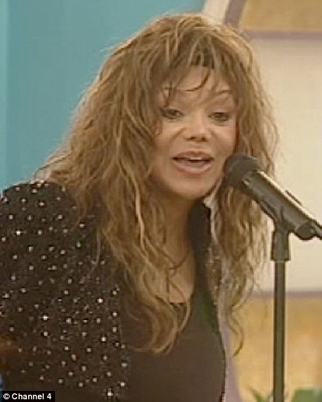 Second stab: La Toya dabbled with reality living in Celebrity Big Brother UK