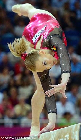 Romania's Sandra Raluca Izbasa during the London 2012 Olympic Games