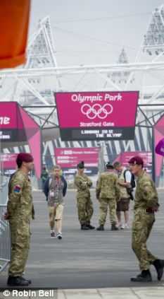 Right balance: Olympic security has been vigilant but friendly and unobtrusive