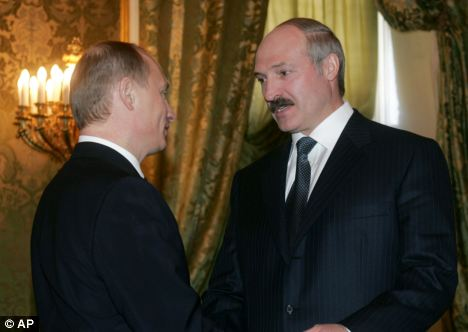 Suspicion: Lukashenko has been in power since 1994 and appears to have mastered the trick at always winning elections